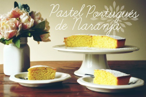 Pastel Portugués de Naranja cover