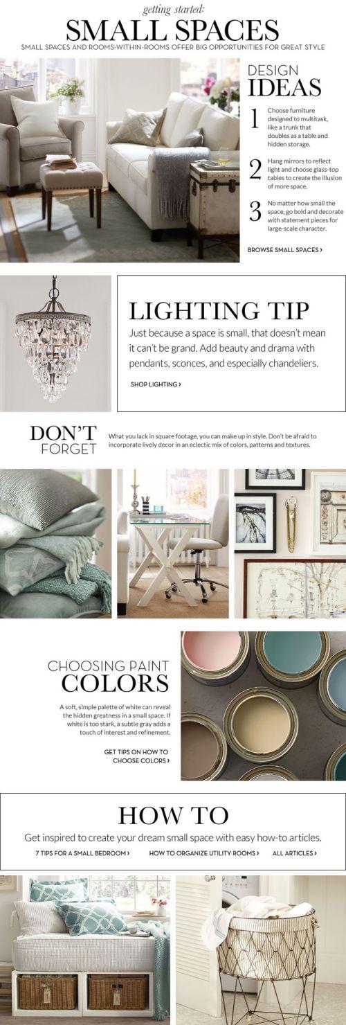 tips para decorar espacios pequenos
