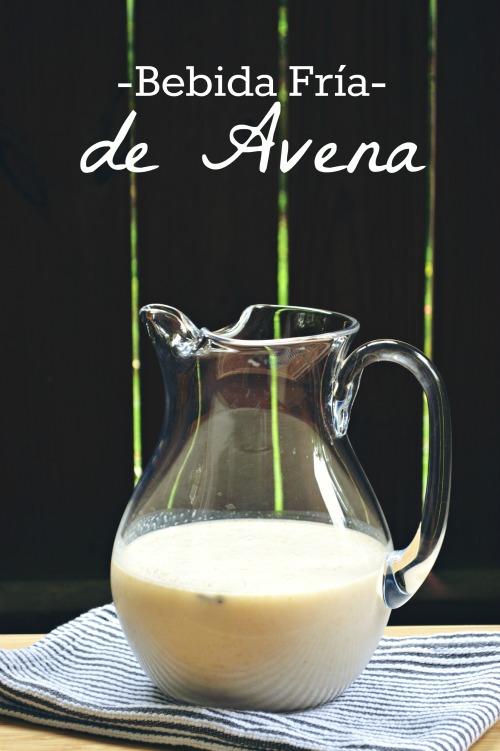Bebida Fria de Avena cover