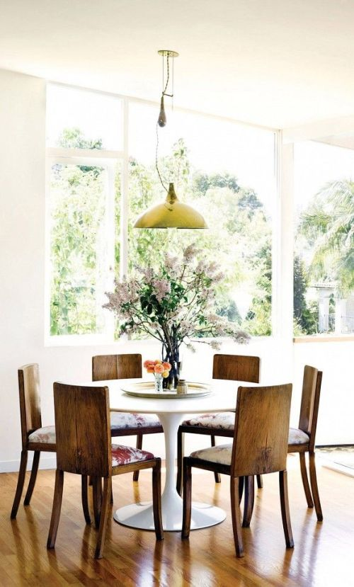 Eclectic style dinning room