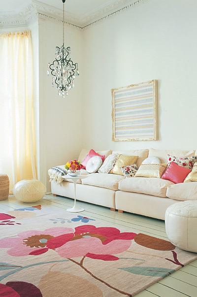 Boho-chic-living-room