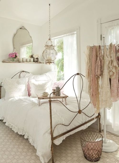 Shabby chic French bedroom