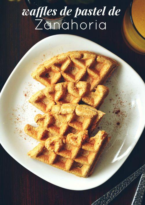 Waffles de Pastel de Zanahoria cover