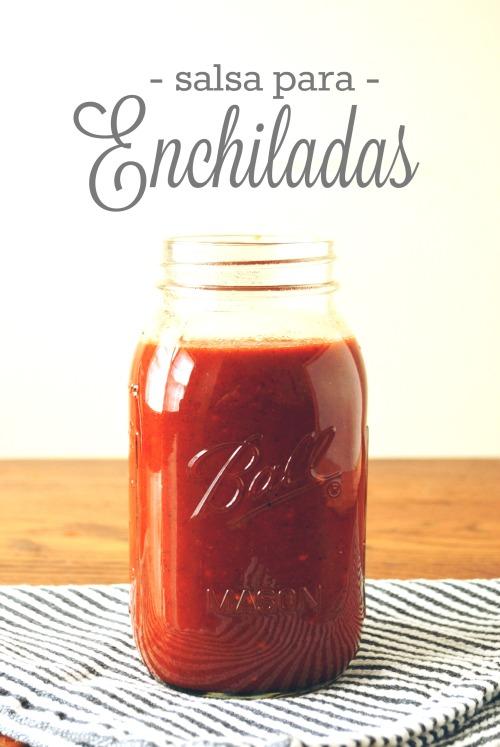 Salsa para Enchiladas cover