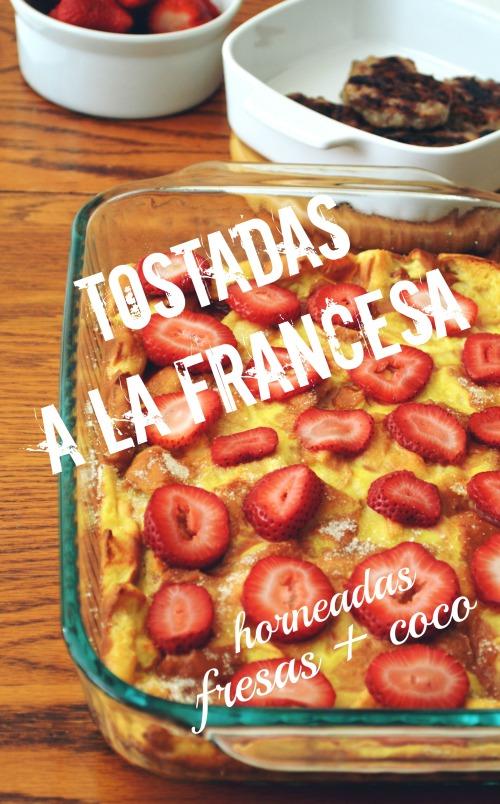 Caserola de Tostadas a la francesa cover