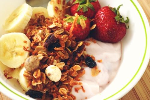 granola de coco